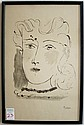 PABLO PICASSO LITHOGRAPH (Spain/France, 1881-1973)