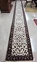 HAND KNOTTED ORIENTAL RUNNER, Persian Kashan