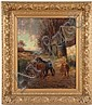 TOMSON LAING OIL ON CANVAS (Scottish, active, Tomson Laing, Click for value