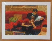ARNE WESTERMAN (Oregon, born 1927) watercolor on p