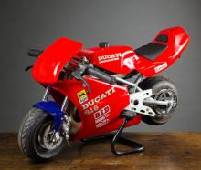 DUCATI 916 POCKET MOTORCYCLE, a gas powered miniat