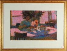 LOIS SILVER (Washington, 20/21st century) pastel o