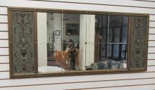 NEOCLASSICAL STYLE OVERMANTEL MIRROR, American, c.