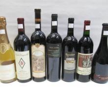 TWENTY-THREE BOTTLES OF VINTAGE CALIFORNIA WINE: