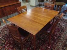 CHERRY DINING TABLE AND CHAIR SET, 'Provincetown C