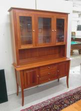 CHERRY CHINA CABINET ON BUFFET, 'Provincetown Coll