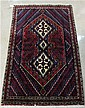 PERSIAN SHAR BABAK AREA RUG, hand knotted,