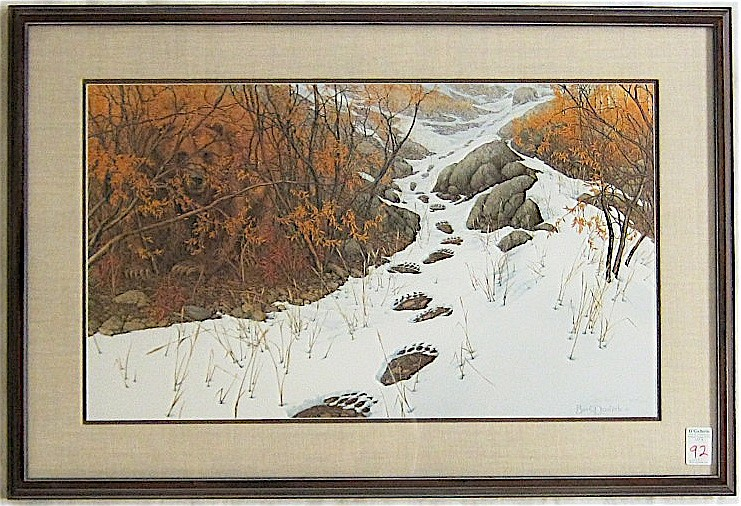 Bev Doolittle Limited Edition Print American, 92 C F8fabb7351 on House And Furniture