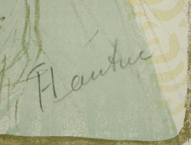 HENRI TOULOUSE-LAUTREC (France, 1864-1901) lithogr