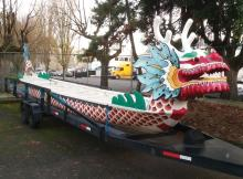 PORTLAND ROSE FESTIVAL DRAGON BOAT RACING VESSEL,