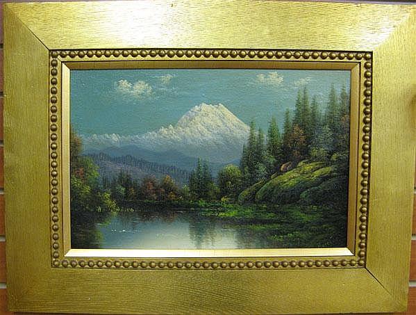ELIZA R. BARCHUS oil on canvas