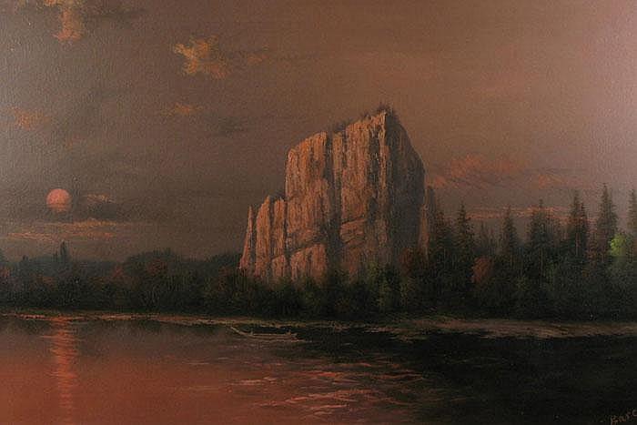ELIZA R. BARCHUS oil on canvas (