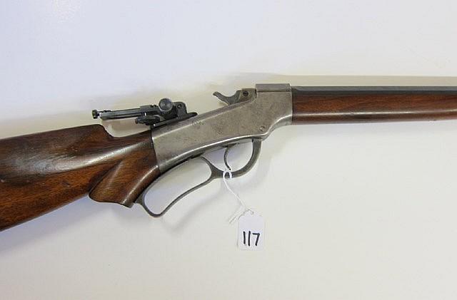 BALLARD NO.9 SINGLE SHOT RIFLE, 38-55 caliber,