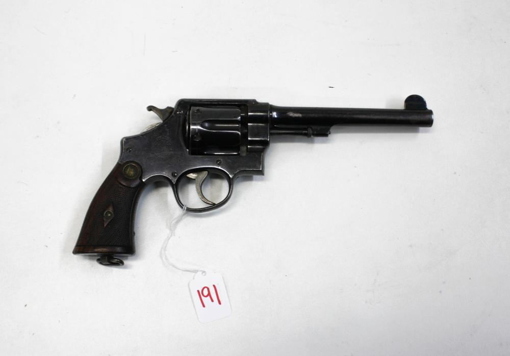 SMITH AND WESSON 455 HAND EJECTOR (SECOND MODEL) D