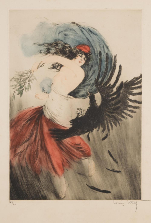 LOUIS ICART (New York, N.Y., 1888-1950) etching an
