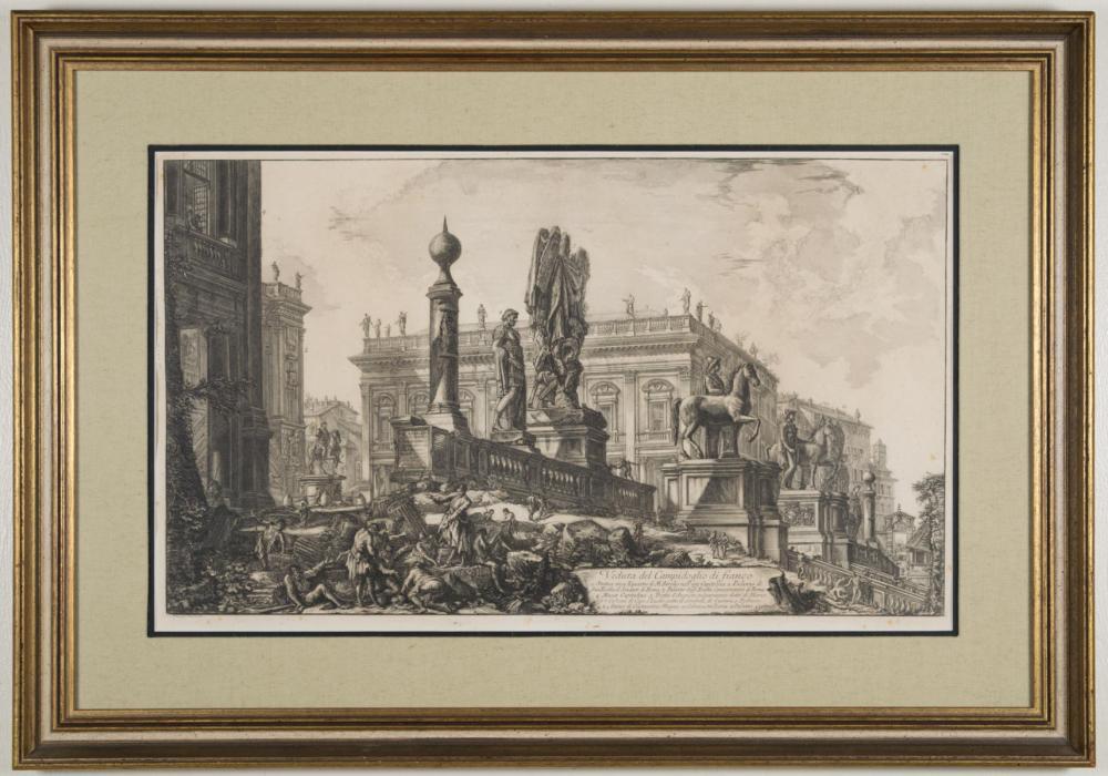 GIOVANNI BATTISTA PIRANESI (Italy, 1720-1778) etch