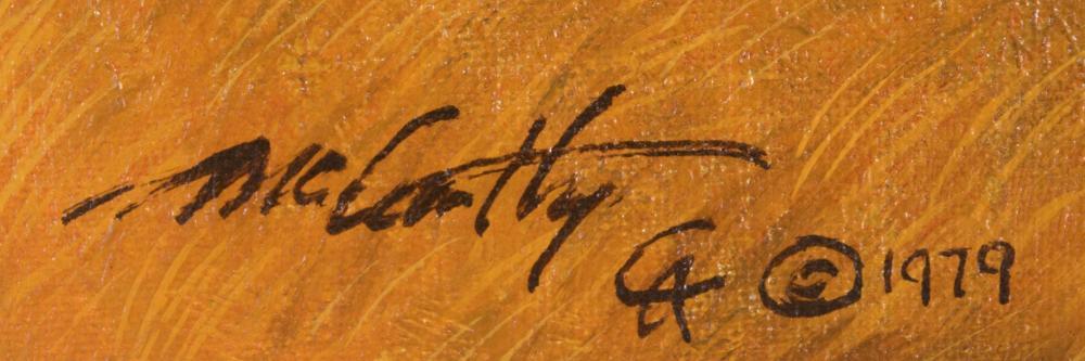 FRANK McCARTHY (New York/Arizona, 1924-2002) oil o