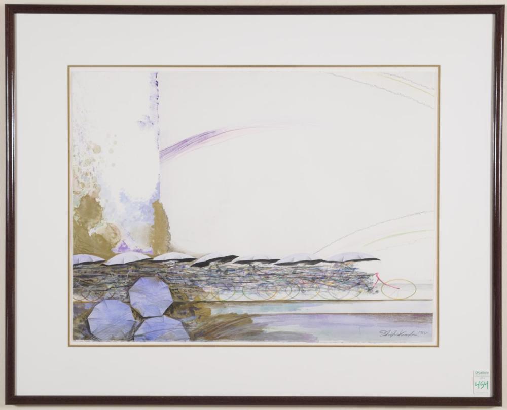 SHIGEKI KURODA (Japan, born 1953) mixed media on p