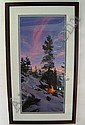 STEPHEN LYMAN COLOR LITHOGRAPH (American,, Stephen Lyman, Click for value