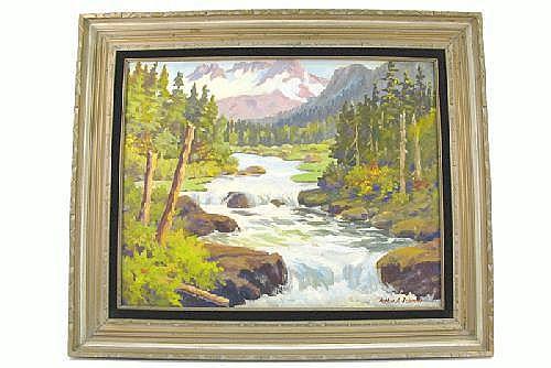 ARTHUR A SELANDER (Marshfield, Oregon 1885-1978).