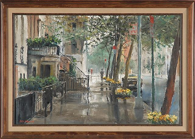 PETER HAYWARD OIL ON CANVAS (New York, N.Y.