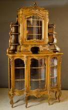 19TH CENTURY FRENCH CORNER CABINET
