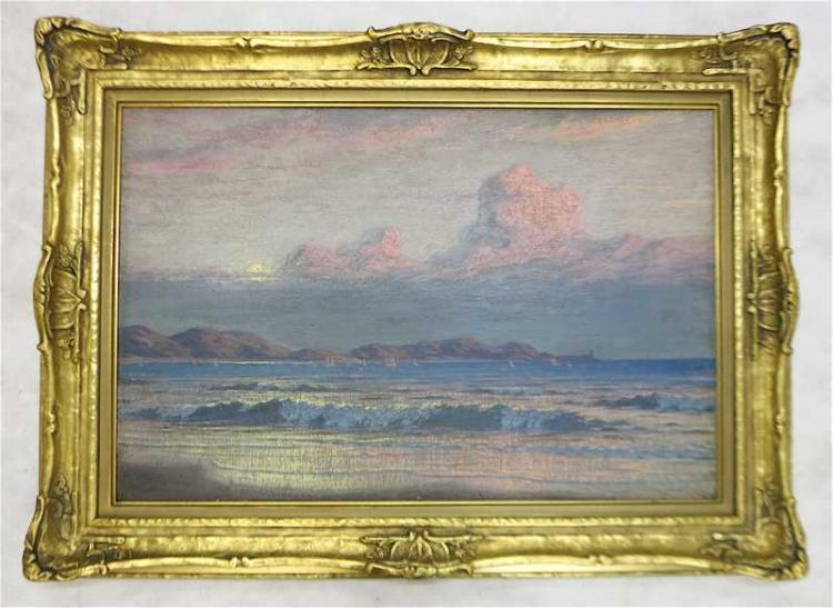 WELLINGTON JARARD REYNOLDS OIL ON BOARD
