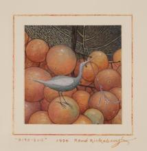 RENE RICKABAUGH (Oregon, born 1947) watercolor on