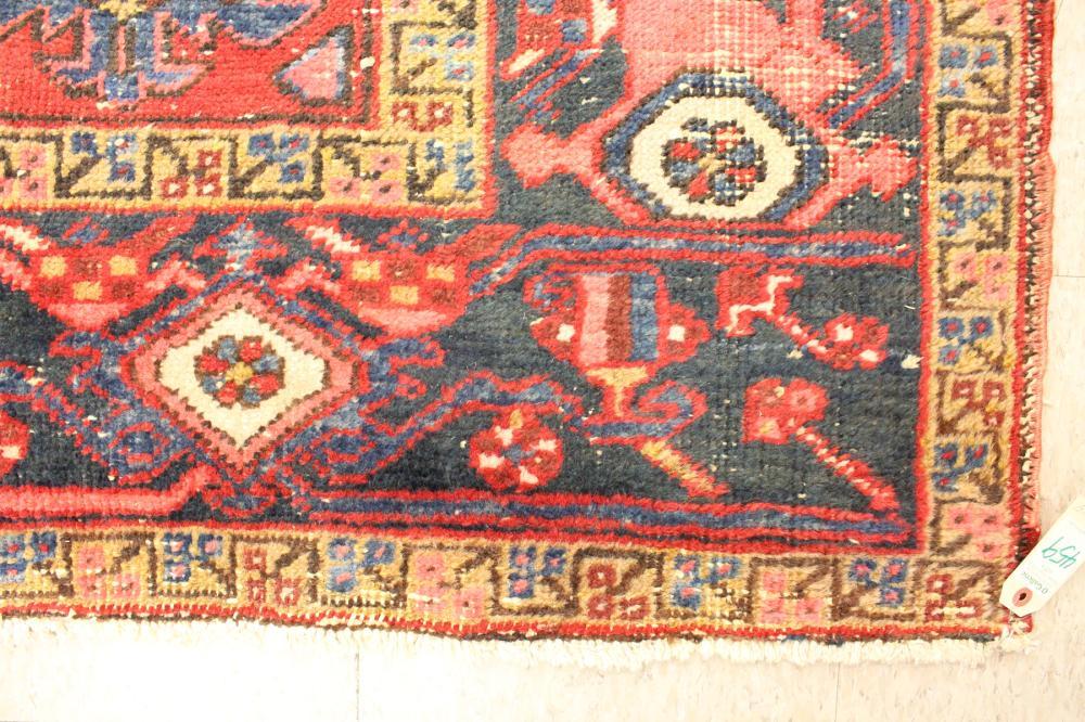 SEMI-ANTIQUE PERSIAN HERIZ CARPET, East Azerbaijan