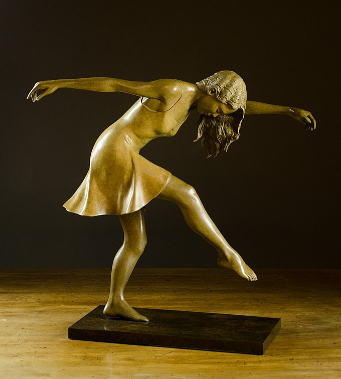 RODD AMBROSON BRONZE SCULPTURE (Joseph, Oregon,  2