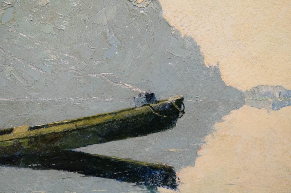 EUSTACE PAUL ZIEGLER OIL ON BOARD