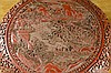 Image 2 for CHINESE ROUND RED CINNABAR LACQUER BOX