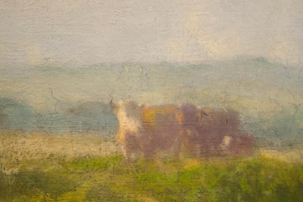 WILLIAM HART (New York/Scotland, 1823-1894) oil on