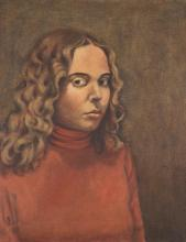 RENE RICKABAUGH (Oregon, born 1947) oil on canvas,