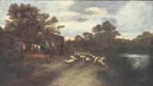 WILLIAM WIDGERY (United Kingdom, 1822-1893) oil on