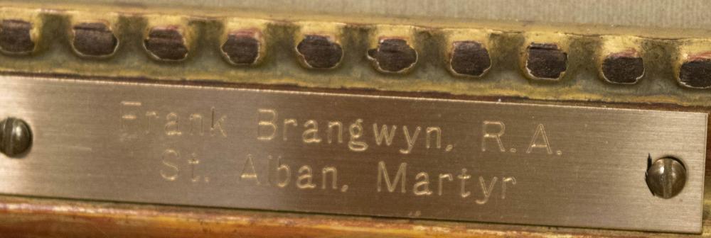 FRANK BRANGWYN (New U.S./U.K./Belgium, 1867-1956)w