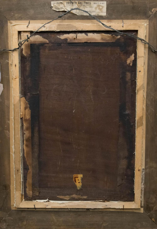 JOSEPH CARAUD (France/Algeria, 1821-1905) oil on p