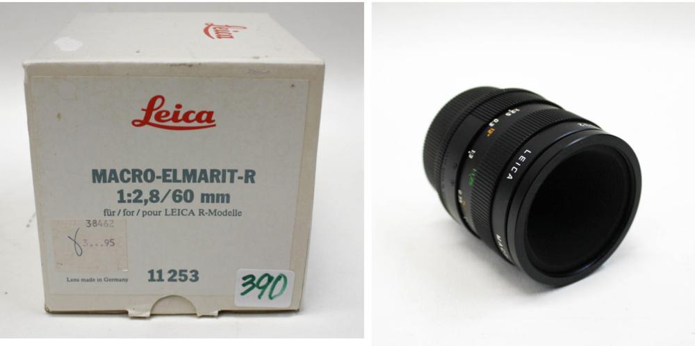 LEICA MACRO-ELMARIT-R CAMERA LENS IN ORIGINAL BOX