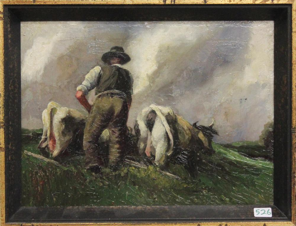 PASTORAL OIL ON CANVAS