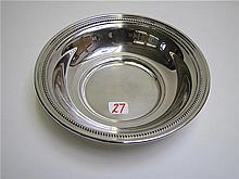 AMERICAN STERLING SILVER BOWL, by The Randahl