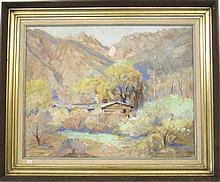 JOSEPH M. STAHLEY OIL ON CANVAS (California,