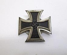 WORLD WAR TWO GERMAN NAZI IRON CROSS, the vaulted