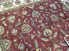 CONTEMPORARY HAND KNOTTED ORIENTAL CARPET,