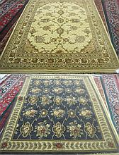 TWO AMERICAN MACHINE LOOMED ORIENTAL CARPET, Shaw