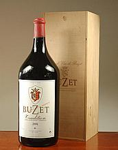 EXTRA LARGE BOTTLE OF VINTAGE FRENCH RED BORDEAUX