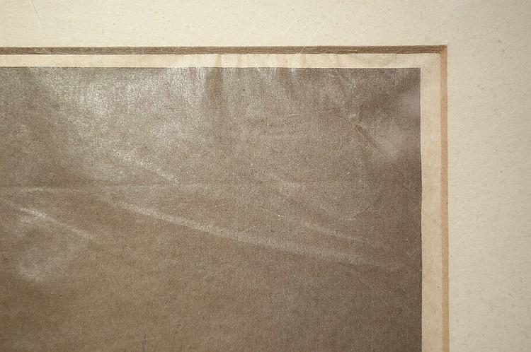 INK SIGNED EDWARD CURTIS SEPIA PRINT PHOTOGRAVURE
