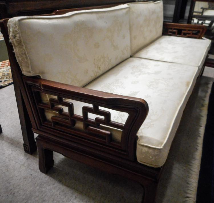 CHINESE ROSEWOOD DAYBED/SOFA, Hong Kong, mid-20th