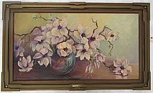 JESSIE EVELYN HOOVER OIL ON CANVAS (California/Ill