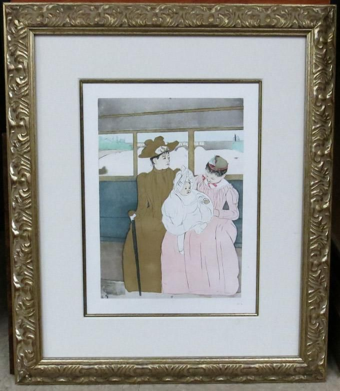 AFTER MARY CASSATT ETCHING AND AQUATINT (French, 1