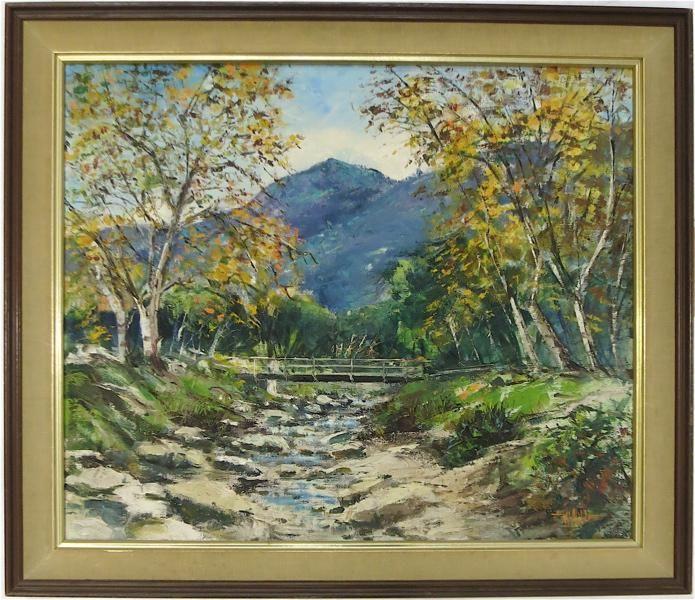 WILFRID TAYLOR MILLS (California, 1912-1988) OIL O